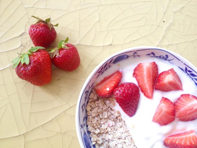 Joghurt-Erdbeere