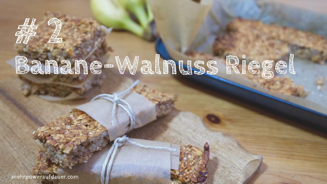 Banane-Walnuss Energieriegel @ mehrpoweraufdauer.com