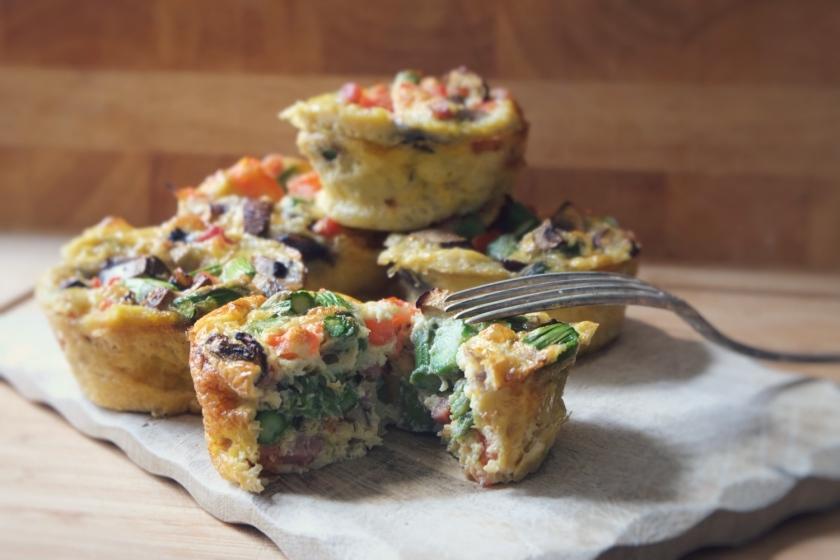Breakfast Egg Muffins @ mehrpoweraufdauer.com