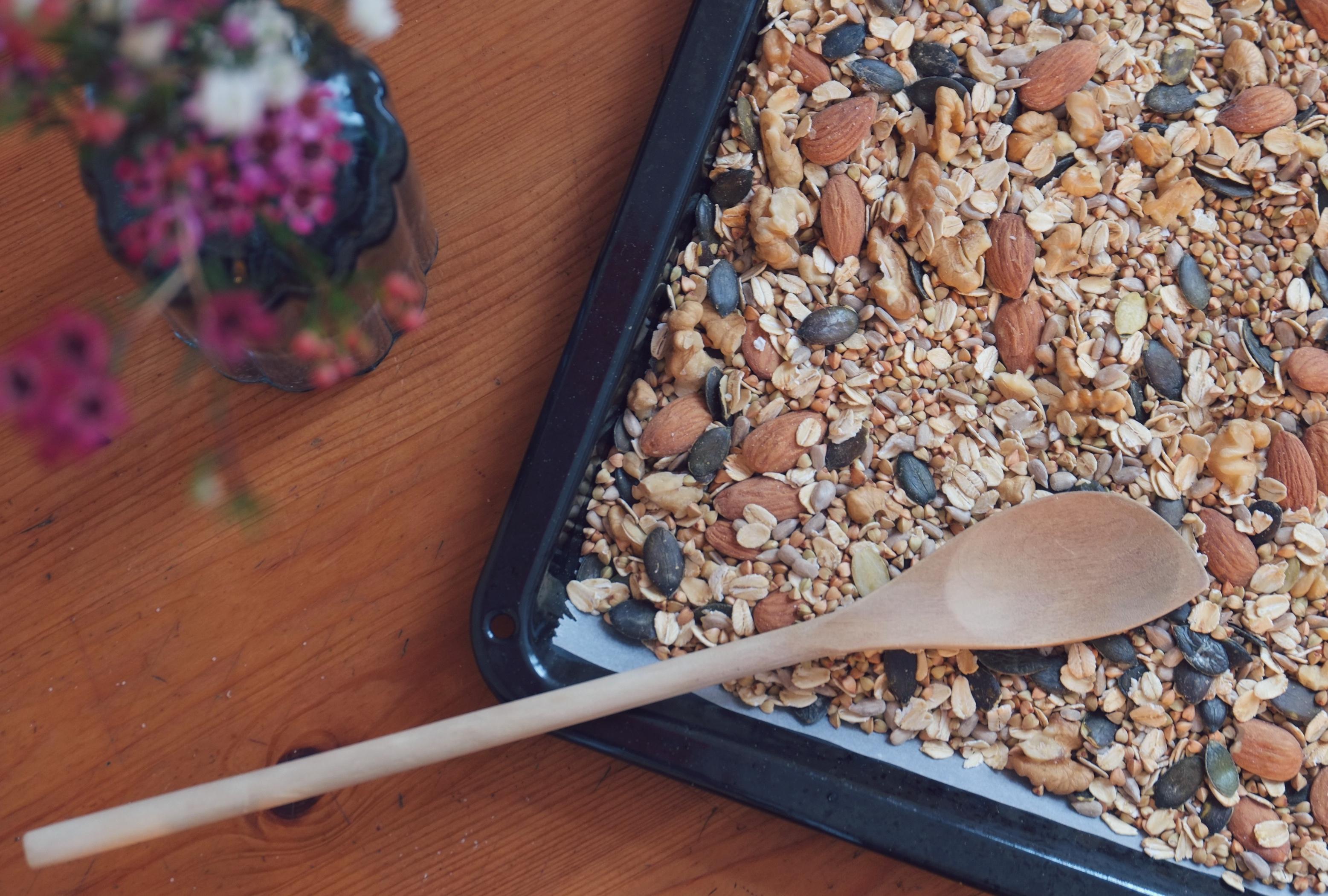 Buchweizen-Granola © Mehr Power auf Dauer