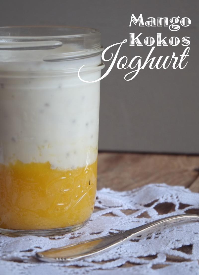 Mango-Kokos-Joghurt @ mehrpoweraufdauer.com