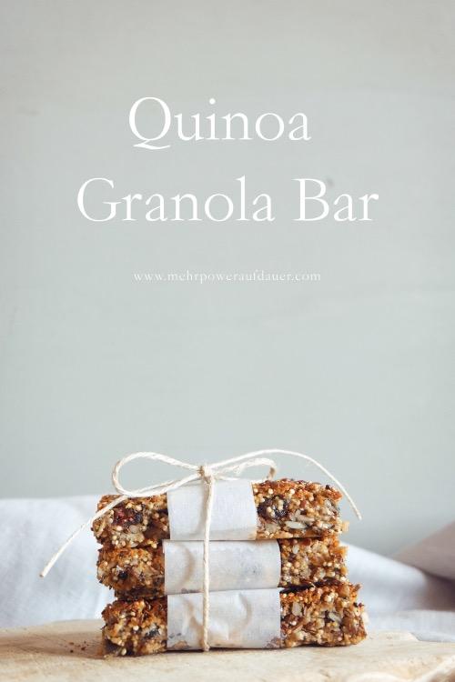Quinoa-Müsliriegel @ mehrpoweraufdauer.com