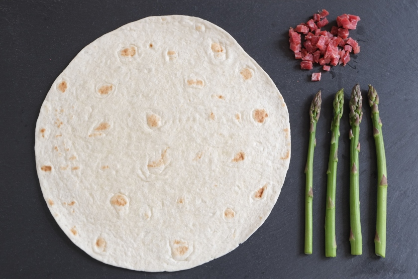 Tortilla Pizza © Mehr Power auf Dauer